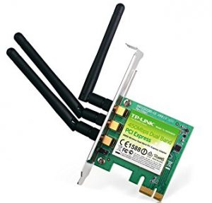 TP-LINK N900 2.4GHz or 5GHz up to 450Mbps Wireless Dual Band PCI Express Adapter