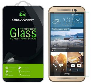 Dmax Armor HTC One M9 Tempered Glass Screen Protector